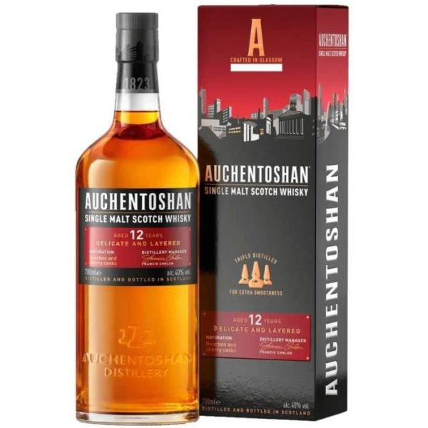 Single Malt Scotch Whisky 12ans 70cl Ma Cave Alambic Avranches Fougeres