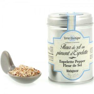 Fleur de sel au piment d'espelette L'alambic Avranches Fougères