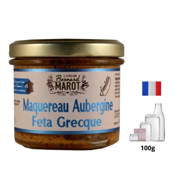 Maquereau-Aubergine-Feta-Grecque l'alambic avranches fougères