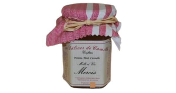 confiture mercis les delices L'alambic Avranches Fougères de camille