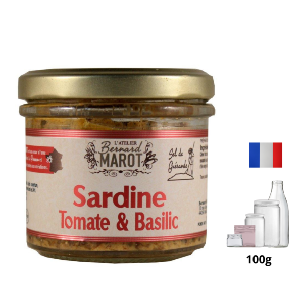 Sardine-Tomate-Basilic l'alambic avranches fougères