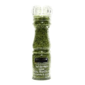 sel de mer yuzu basilic coriandre thai L'alambic Avranches Fougères