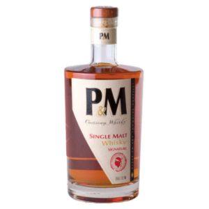 P&M single malt signature alambic Avranches fougères