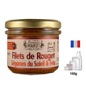 Filet Rouget Légumes du Soleil et Feta alambic Avranches fougères