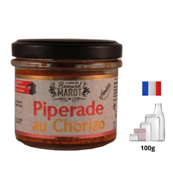 Piperade au Chorizo « Piment d'Espelette alambic Avranches fougères