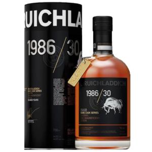 Bruichladdich Rare Casks Series 1986 30 ans alambic Avranches fougères