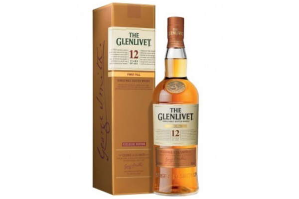 The Glenlivet 12ans Ma Cave Alambic Avranches Fougeres