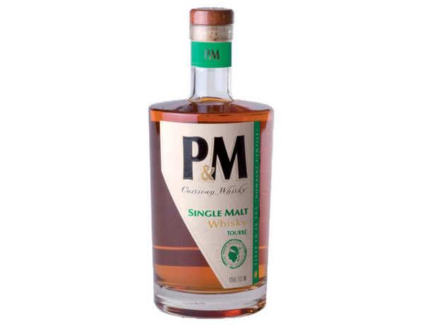 P&M Single Malt Tourbé alambic Avranches fougères