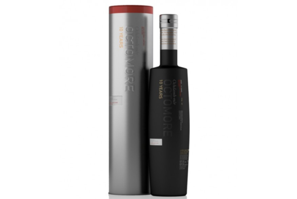 Octomore 10 ans 2nd Limited Edition alambic Avranches fougères