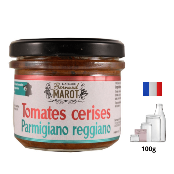Tomates Cerises Parmigiano Reggiano alambic Avranches fougères