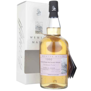 Wemyss Caribbean Fruits 1990 ma cave alambic Avranches fougères