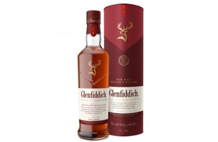 glenfiddich Malt Master s Edition 43% alambic Avranches fougères