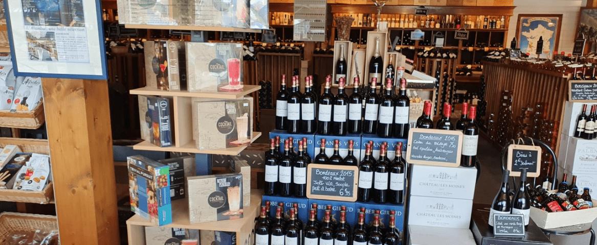 L'Alambic vue d'intérieur épicerie fine